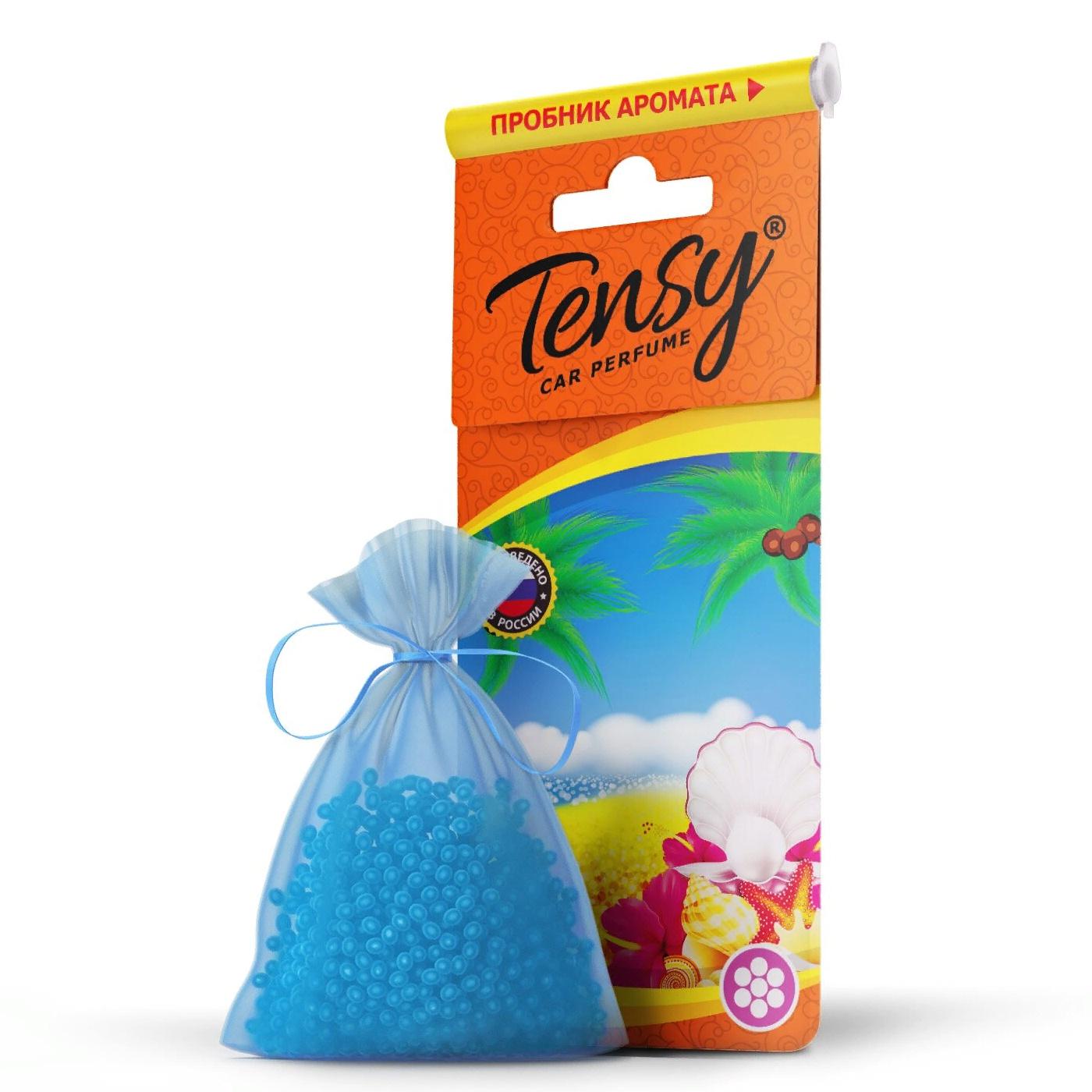 Автомобильный ароматизатор Tensy мешочек, основа гранулы, Океан мешочек ароматизатор 4 буквы