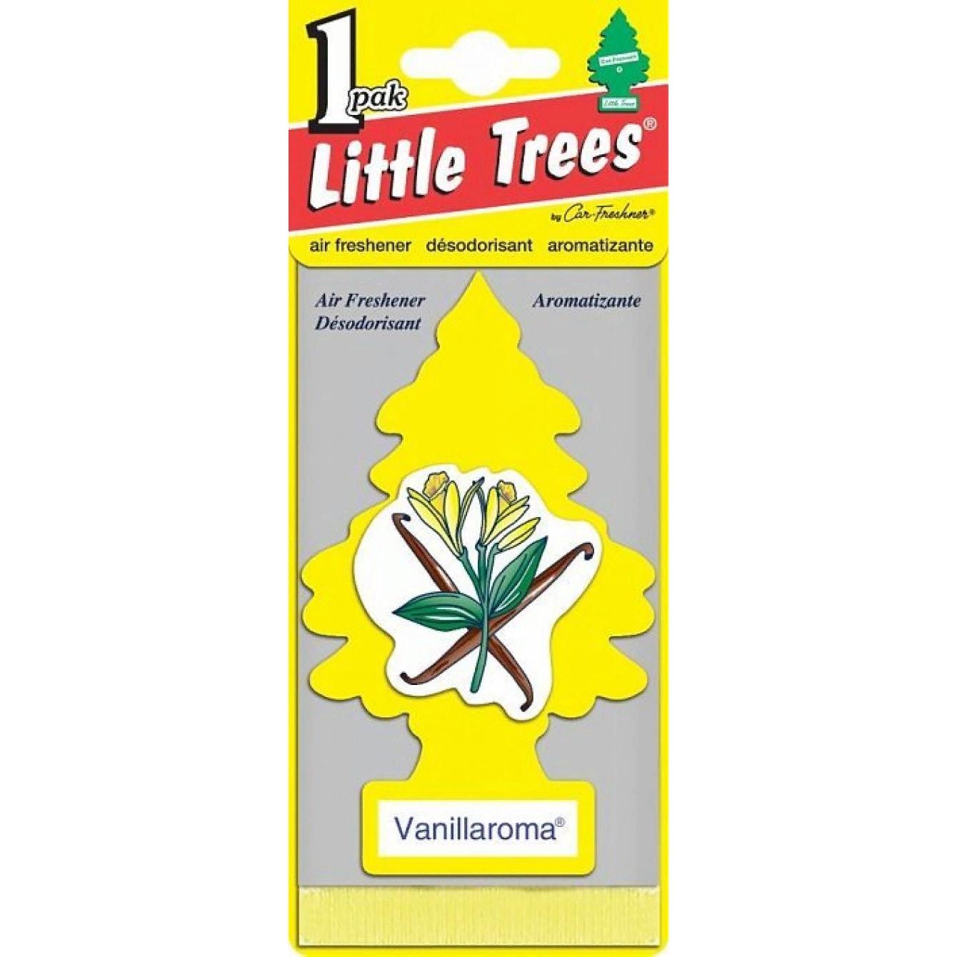Автомобильный ароматизатор Car-Freshner Little Trees, ваниль, США ароматизатор car freshner mixed naturals лайм с лимоном