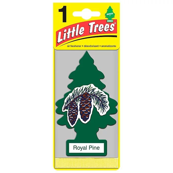 Автомобильный ароматизатор Car-Freshner Little Trees, королевская сосна, США ароматизатор car freshner mixed naturals лайм с лимоном