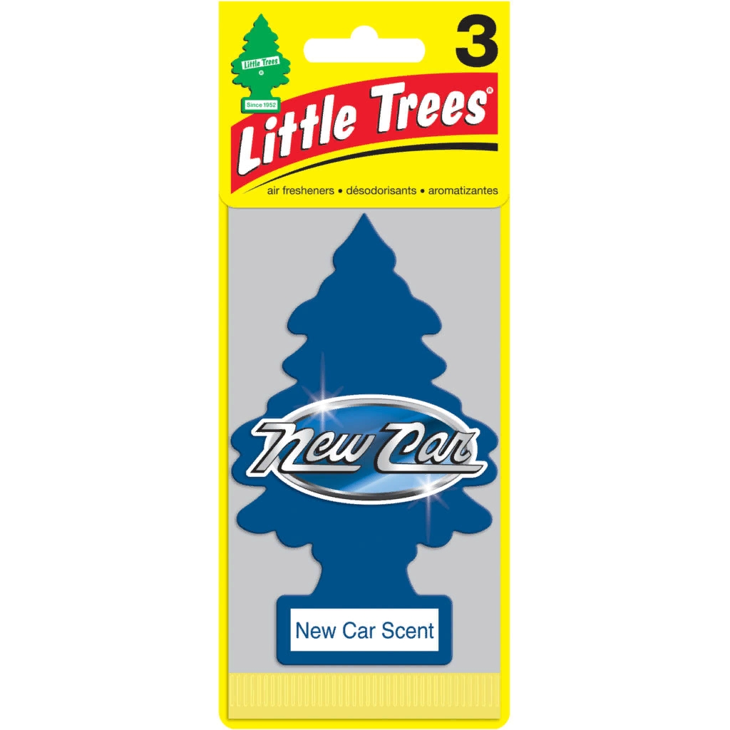 Автомобильный ароматизатор Car-Freshner Little Trees, новая машина, США автомобильный ароматизатор doctor wax новая машина dw0807 под сиденье