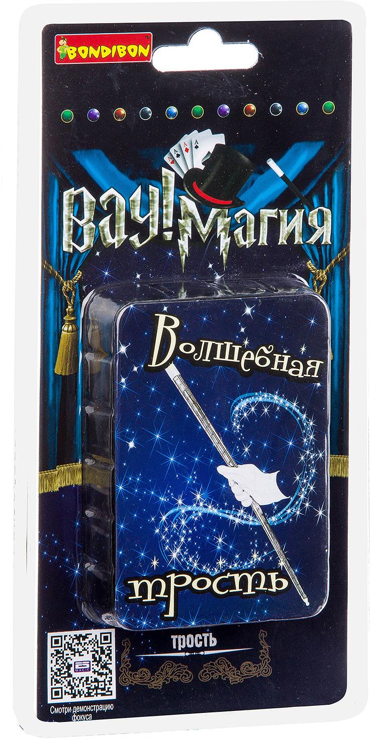 Набор фокусов Bondibon Волшебная тростьВВ2954У каждого фокусника должна быть волшебная палочка! Заставь ее появиться буквально из воздуха с набором фокусов от Bondibon