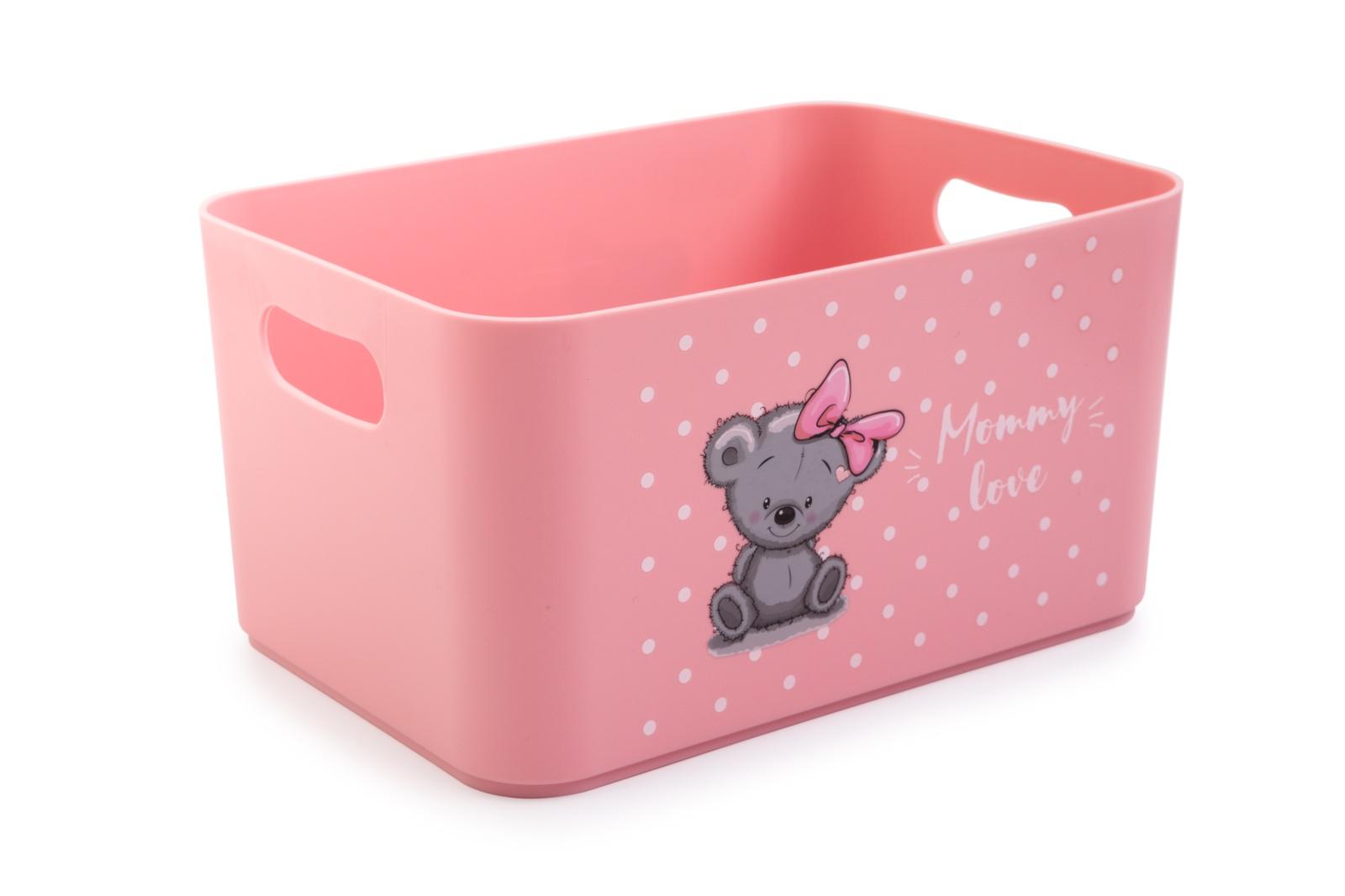 Ящик для игрушек Berossi Mommy Love, Гипоаллергенный пластик