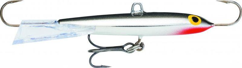 Балансир Rapala, длина 6 см. RFJ06-FSRFJ06-FSЭта приманка подходит, как для подледной ловли, так и рыбалки по открытой воде на больших глубинах и сильном течении. При производстве этих балансиров используется покрытие отражающее ультрафиолет, что делает их более заметными в условиях слабой освещенности. За счет плоской формы тела, данный балансир, обладает низкой парустностью и более устойчив на течении. Подвесной тройник закреплен через заводное кольцо, что обеспечивает более свободное движение балансира в воде. Широкий хвост позволяет балансиру планировать на значительное расстояние.