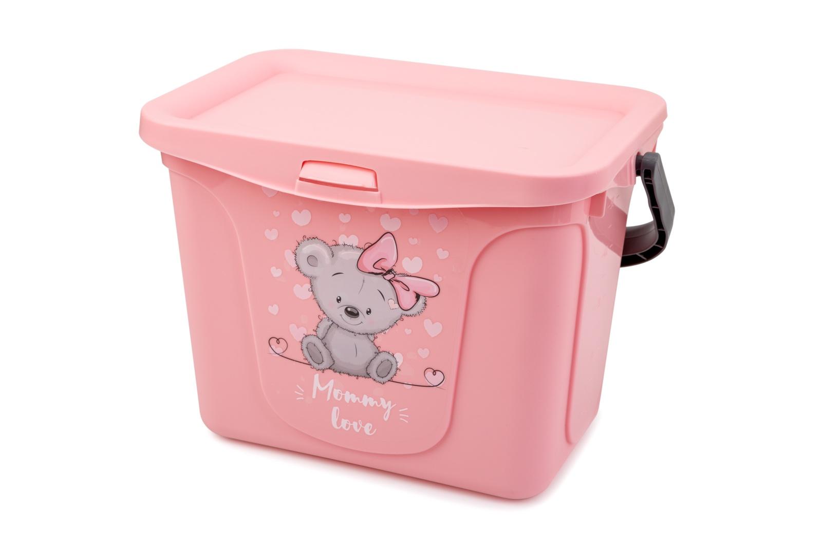 Органайзер для вещей Berossi Mommy Love, АС 48763000, розовый салатник berossi domino twist цвет снежно белый 0 7 л