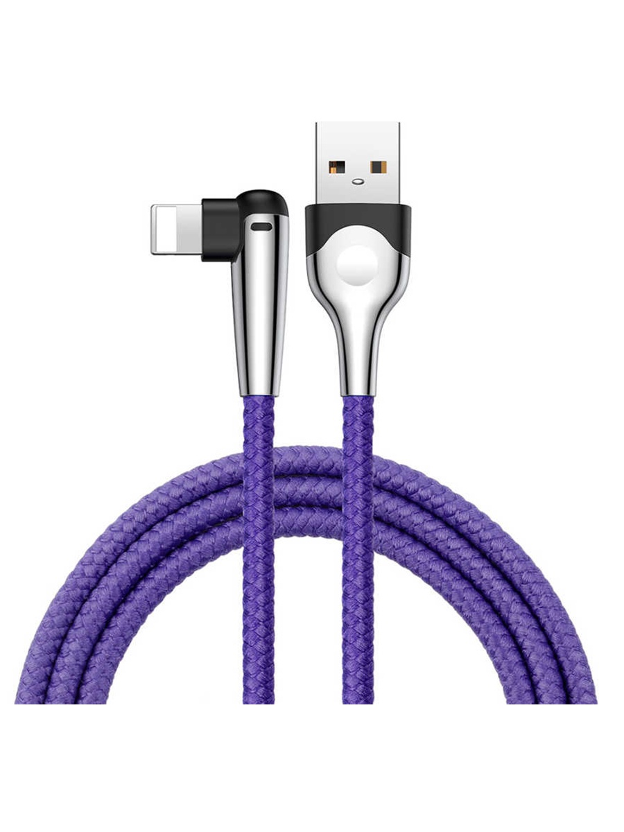 лучшая цена Кабель USB-iP Baseus MVP Mobile, 1 м, CALMVP-D03, purple
