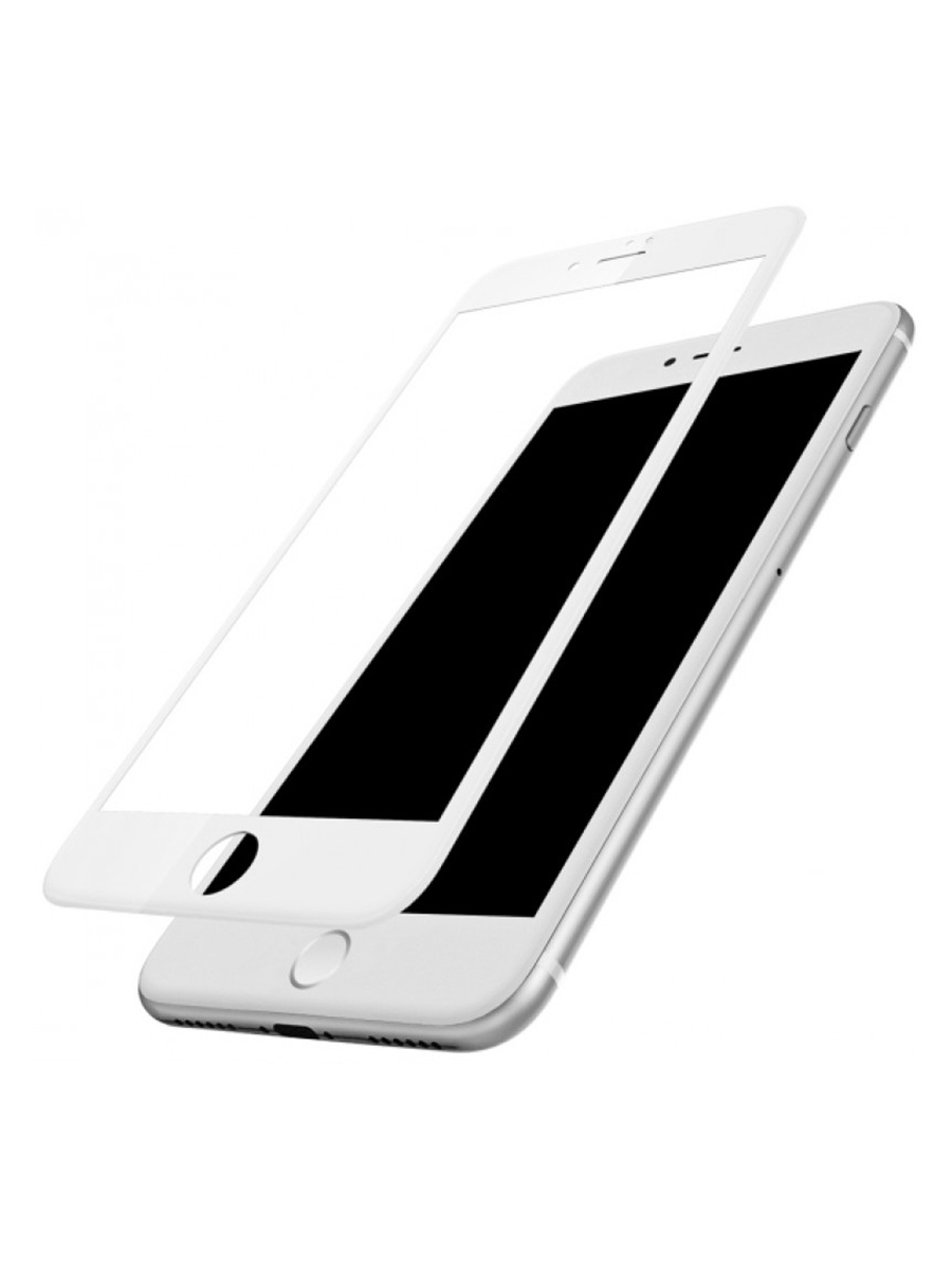 Защитное стекло Apple iPhone 7 Baseus Glass Film White 0.23mm