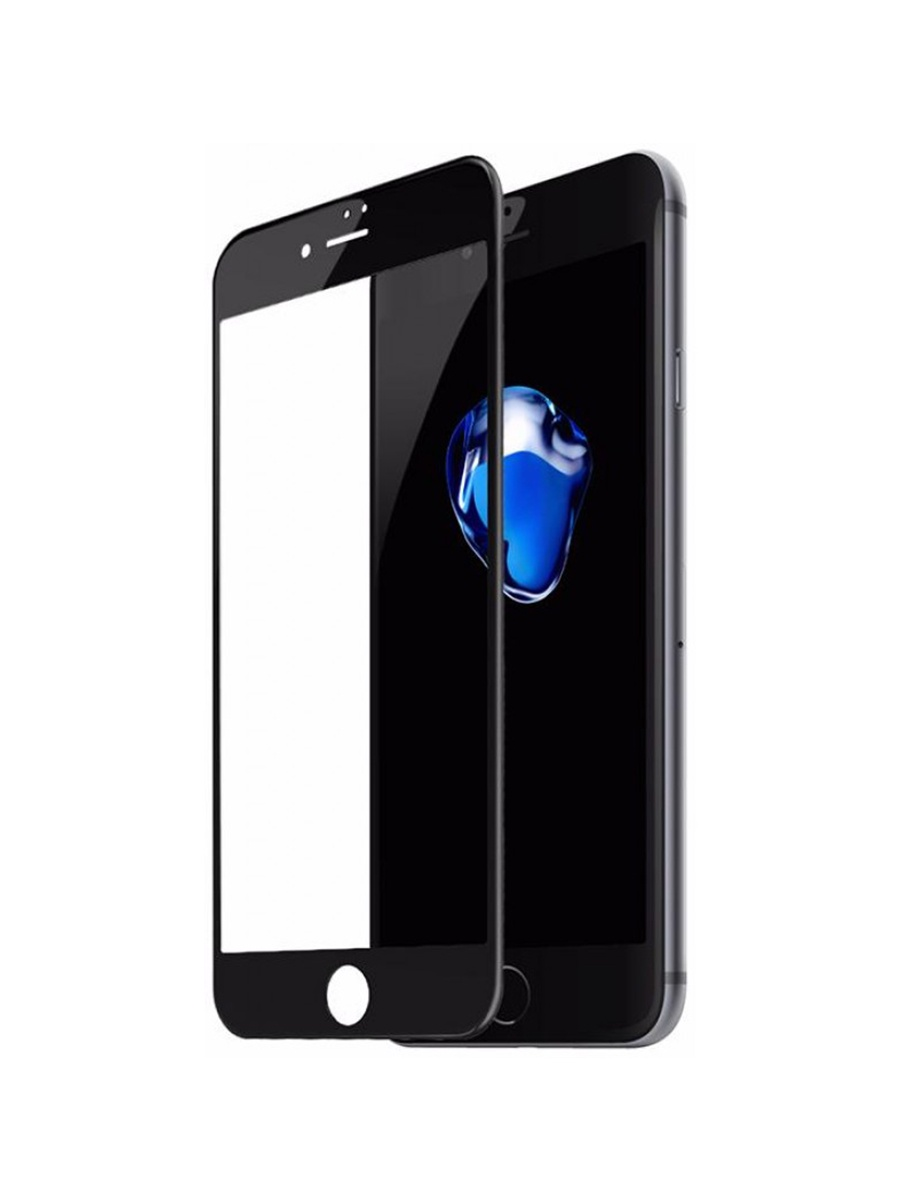 Защитное стекло Apple iPhone 7 Baseus Glass Film Black 0.23mm