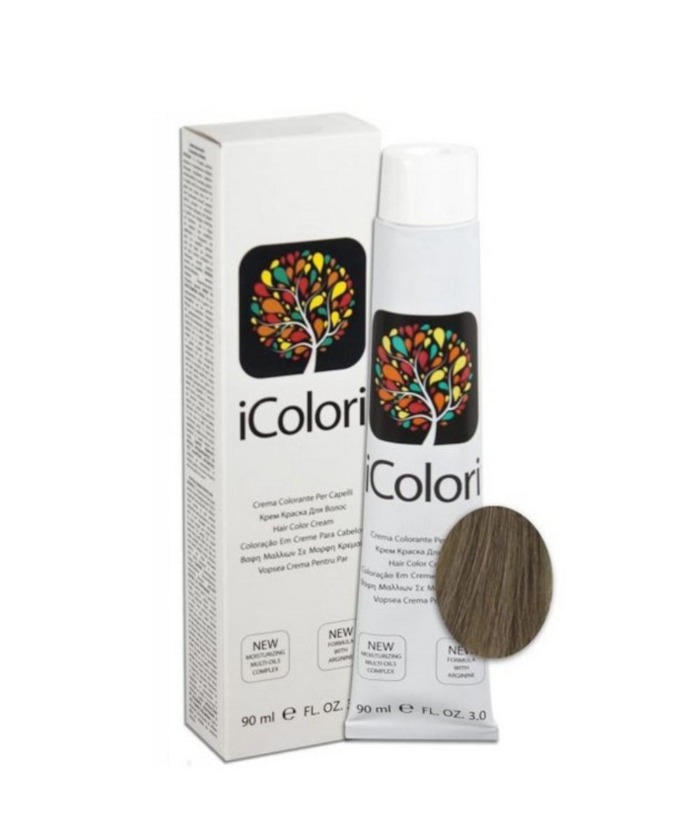 Фото - Крем-краска KayPro iColori, пепельный блондин, 90 мл kaypro краска для волос icolori 5 03 теплый натуральный 90 мл