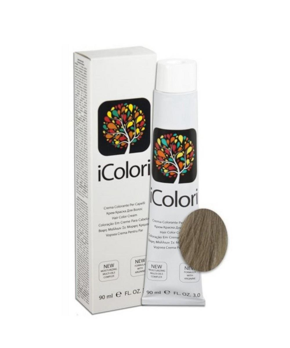 Фото - Крем-краска KayPro iColori, пепельный светлый блондин, 90 мл kaypro краска для волос icolori 5 03 теплый натуральный 90 мл