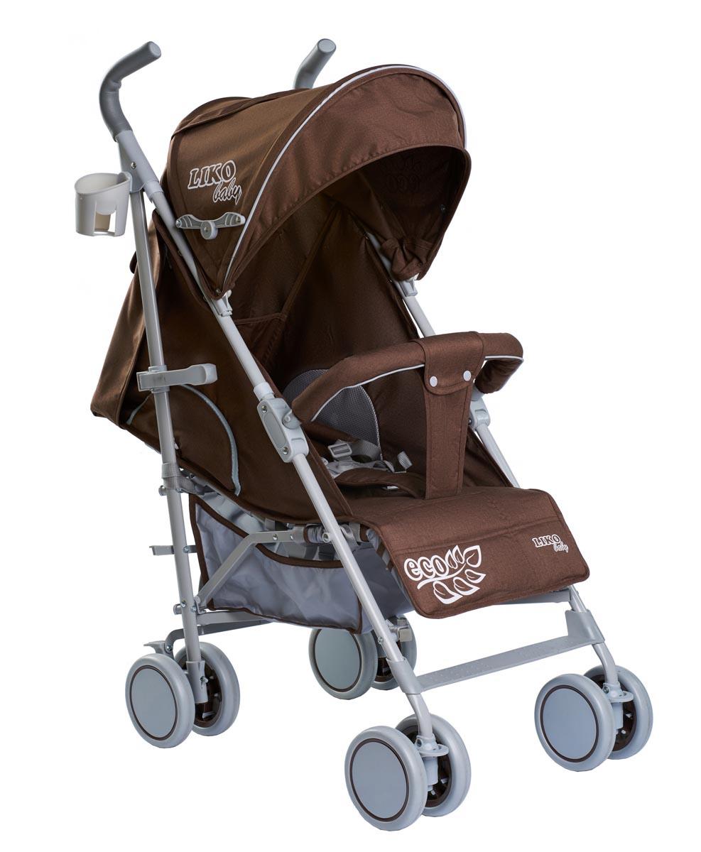 Коляска-трость Liko Baby City Style BT109, коричневый