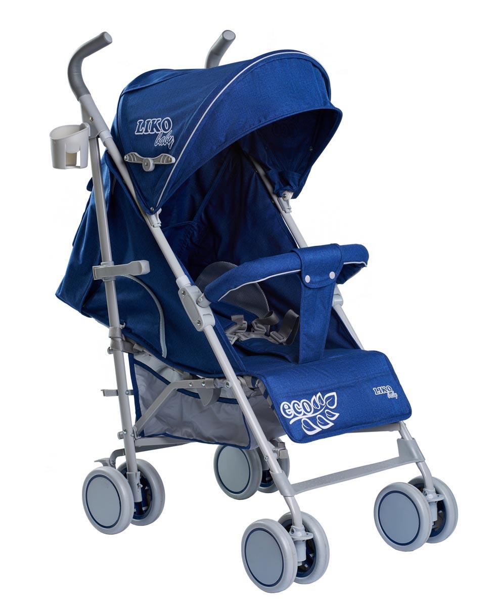 Коляска-трость Liko Baby City Style BT109, синий