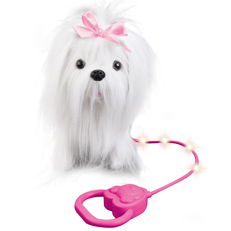 Мягкая игрушка MY FRIENDS JX-14110, 259978 белый интерактивная игрушка my friends щенок 260097