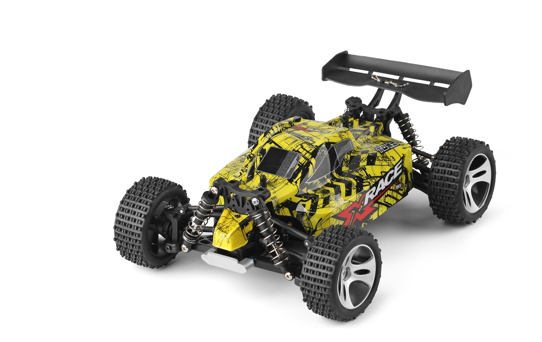 Автомобиль WLToys р/у 1:18 4WD Wltoys high speed car 18401, желтый wltoys a979 50km h high speed 4wd off road remote control car electric models stunt car 1 18 scale rc truck toy for children