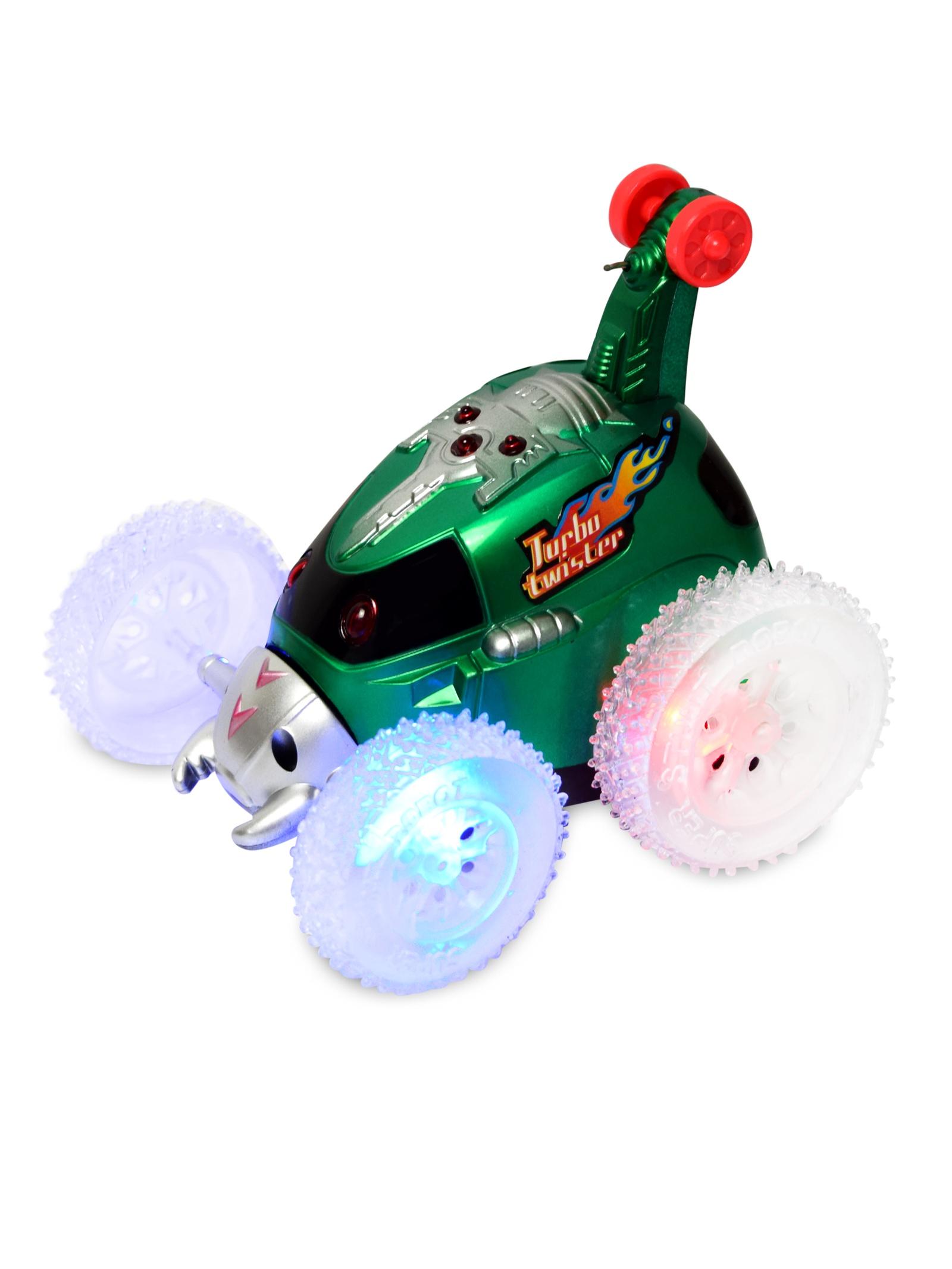 Машина-перевертыш JT Toys Р\У, В0558/зеленый радиоуправляемые игрушки оптом