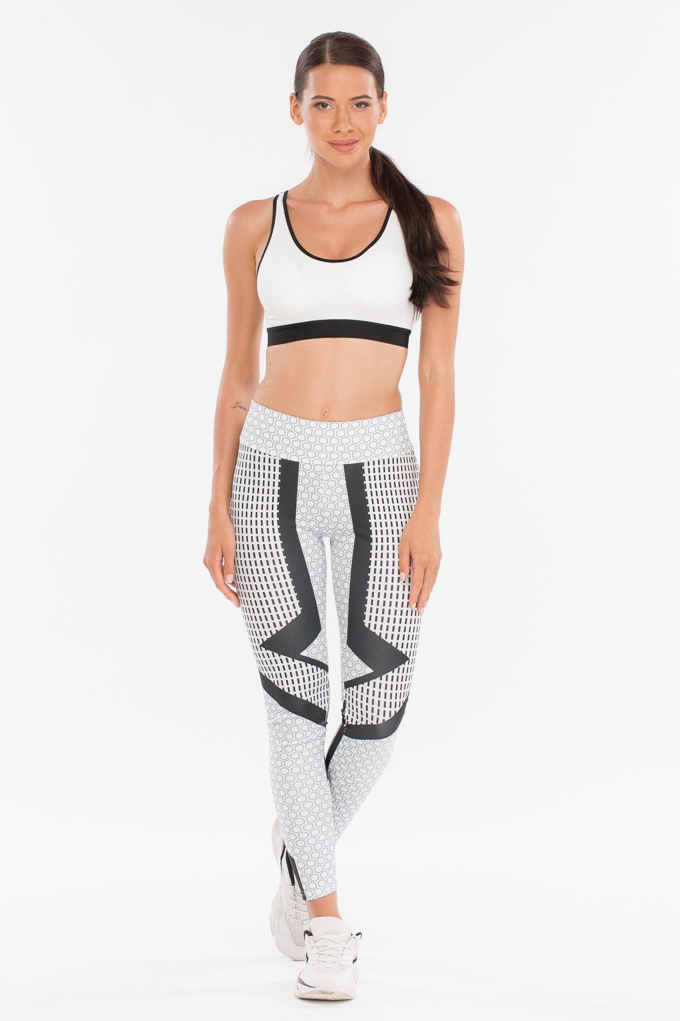 Леггинсы женские Morera, цвет: Светло серый. Размер 4295023 LIGHT GREY (S)Леггинсы для фитнеса, спорта и бега.