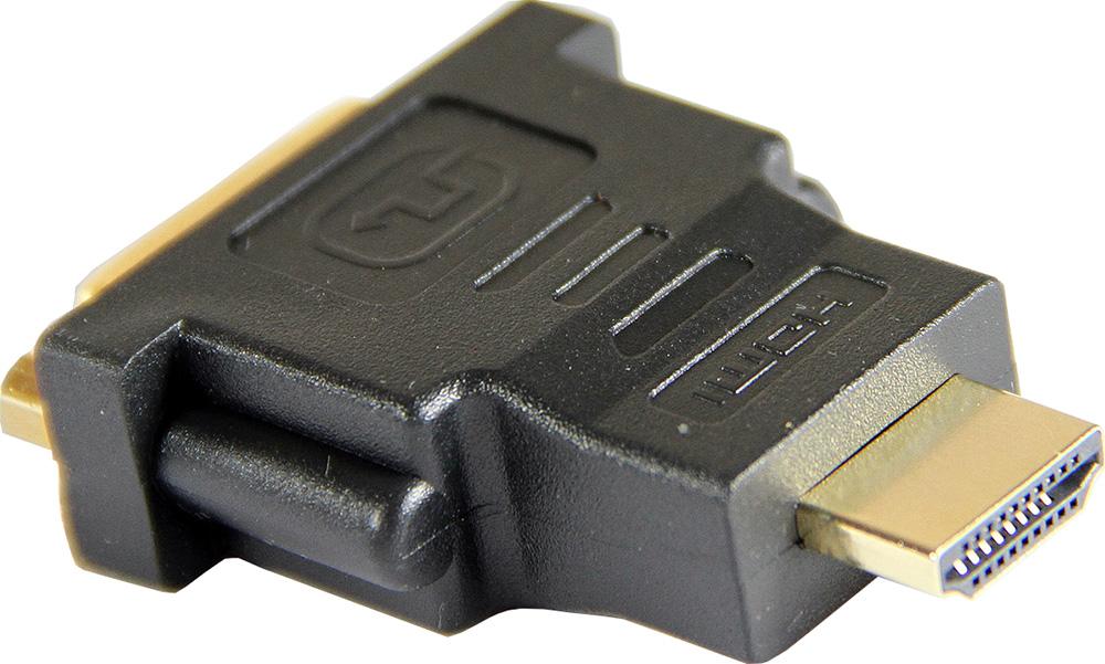 Переходник Aopen DVI-D 25F to HDMI 19M  позолоченные контакты 6 speed cable band switch 25f