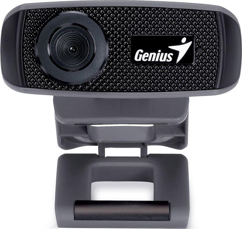 Веб-Камера Genius FaceCam 1000X V2 черный , 720p HD, встроенный микрофон, USB 2.0. настройка веб камеры genius