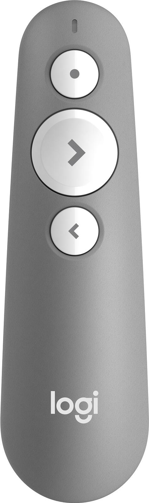 цена на Презентер (910-005387) Logitech Wireless Presenter R500 MID GREY