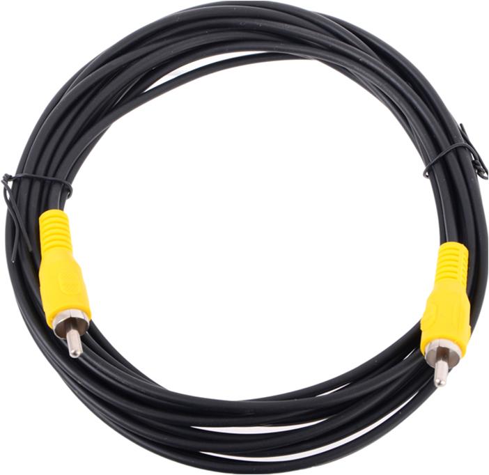 Кабель соединительный RCA (M) - RCA (M) черный 5m, Telecom кабель межблочный аналоговый rca audioquest tower 0 6 m