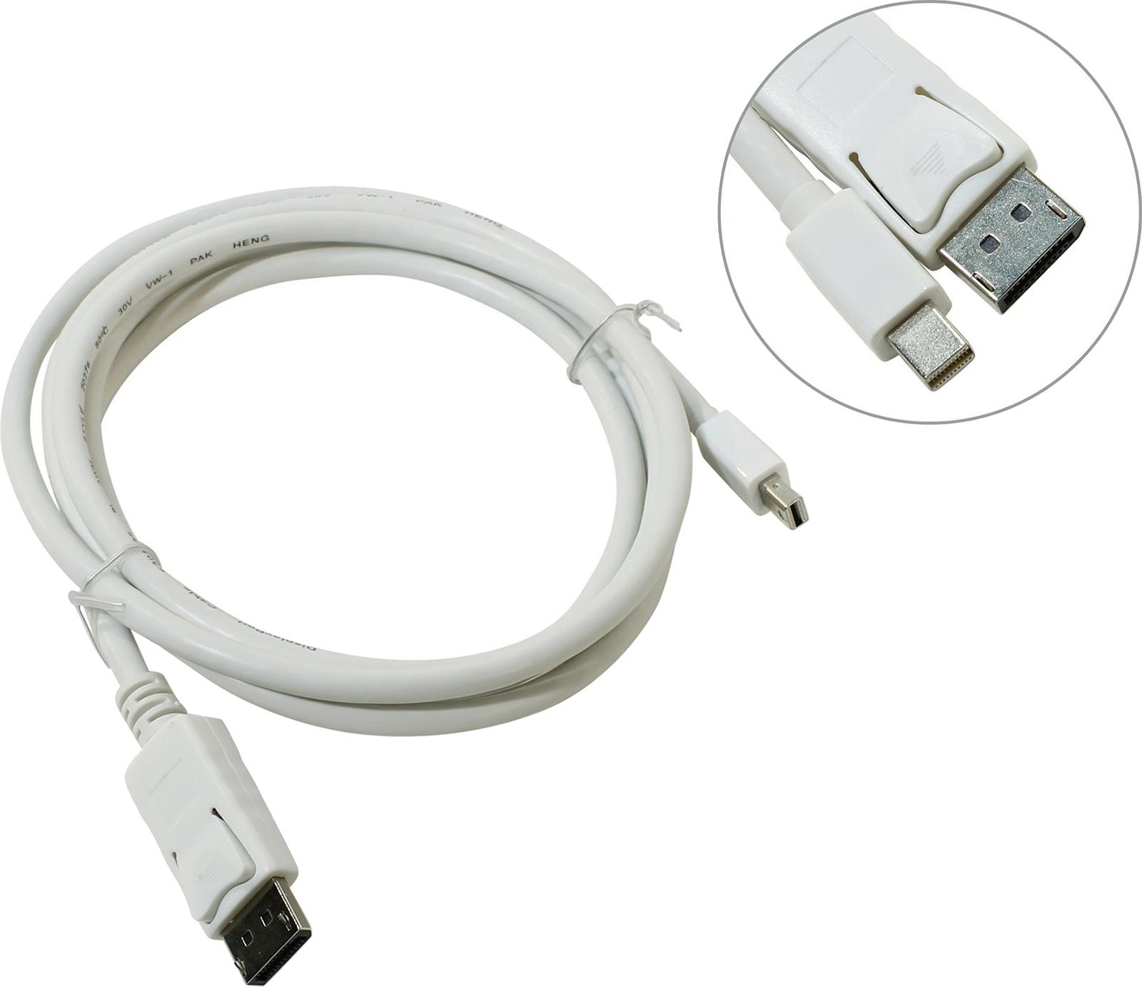 Кабель-переходник Telecom Mini DisplayPort M-> Display Port M 1,8м <TA681>