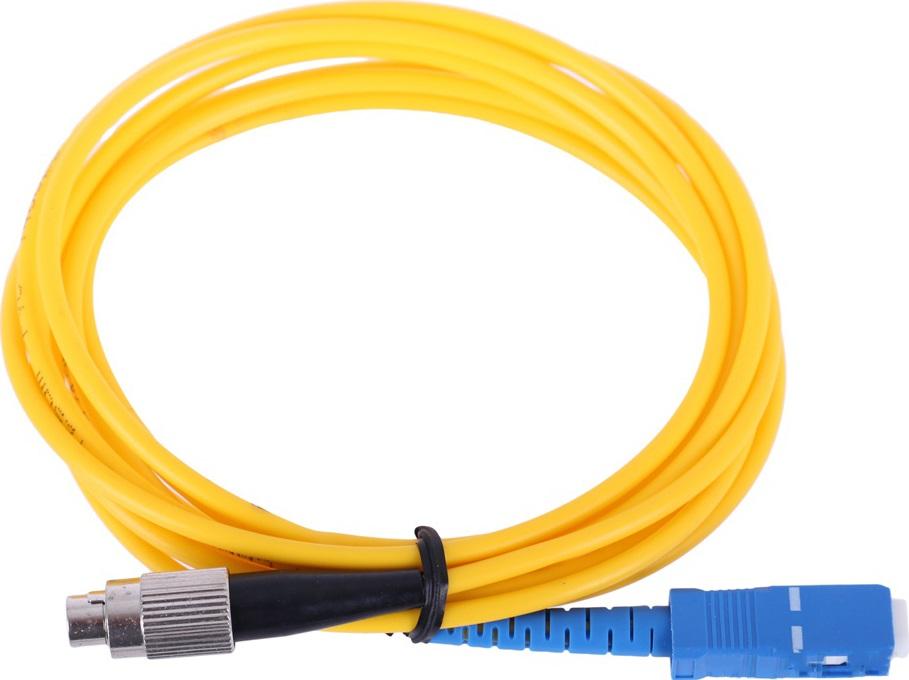 Оптический шнур Vcom, FC-SC,UPC, одномодовый,Simplex, оптический шнур vcom lc fc upc одномодовый simplex vsu301 1m
