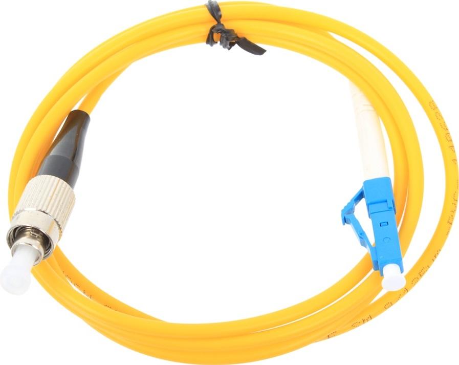 Оптический шнур Vcom, LC-FC,UPC, одномодовый,Simplex, оптический шнур vcom lc fc upc одномодовый simplex vsu301 1m