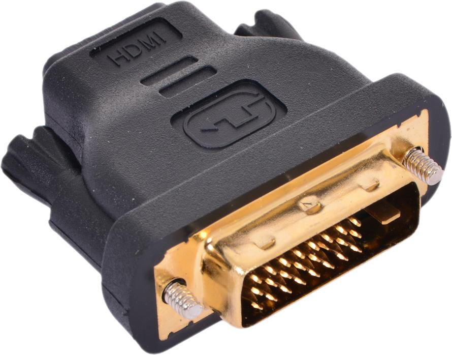 Переходник VCOM HDMI 19F to DVI-D 25M позолоченные контакты <VAD7818>