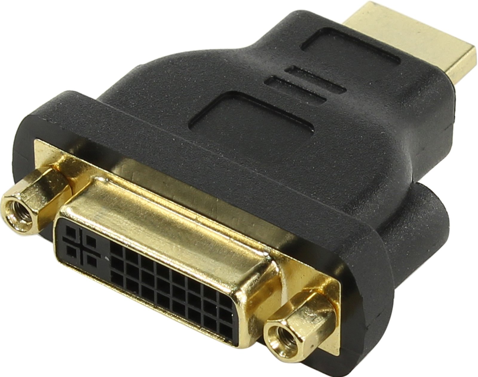 Переходник HDMI 19M - DVI-D 25F VCOM  позолоченные контакты 6 speed cable band switch 25f