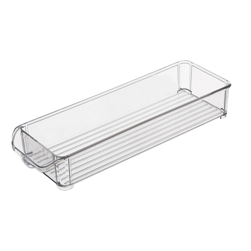 Контейнер-органайзер для холодильника Homsu, HOM-1063, 30 х 9,5 х 5 см, прозрачный контейнер giaretti цвет кремовый прозрачный 29 2 х 17 х 11 см