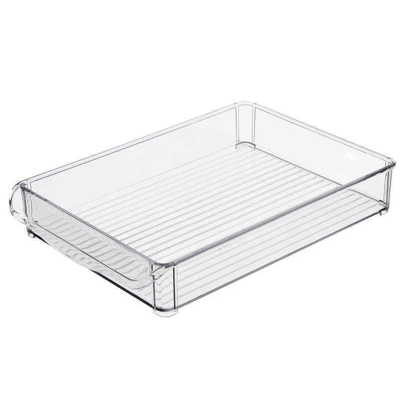 Контейнер-органайзер для холодильника Homsu, HOM-1065, 30 х 20 х 5 см, прозрачный контейнер giaretti цвет кремовый прозрачный 29 2 х 17 х 11 см