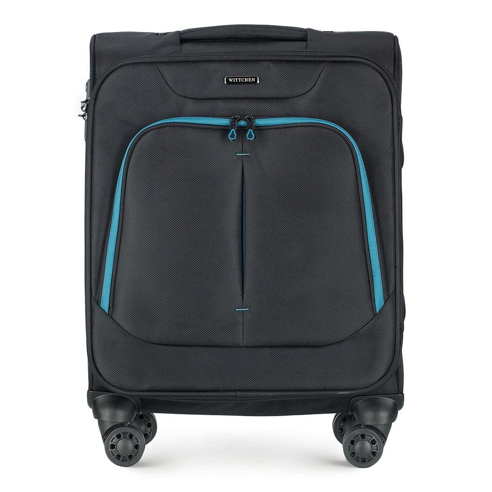 Чемодан Wittchen 56-3S-631, черный чемодан wittchen 56 3s 631 56 3s 631 13 черный