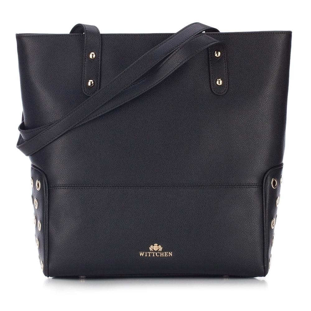 Сумка Wittchen 87-4E-409, 87-4E-409-1, черный87-4E-409-1Женская сумка