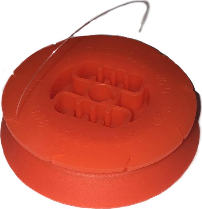 Леска Fishinglider, на силиконой шпуле, 0,321 мм, 7,35 кг, 15 м, УТ000028695, белый