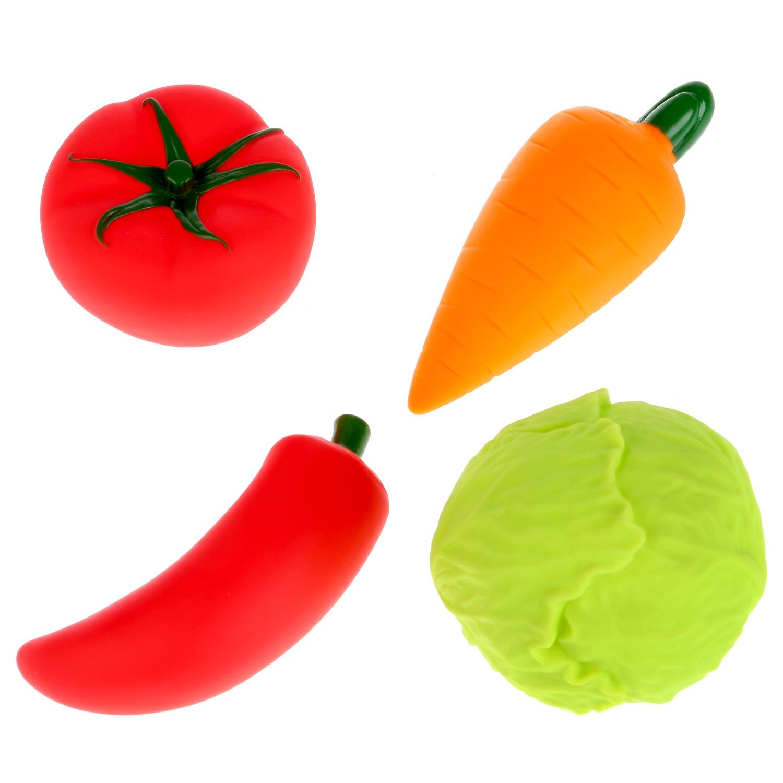 Игрушки для купания Играем вместе Овощи 253346 цена