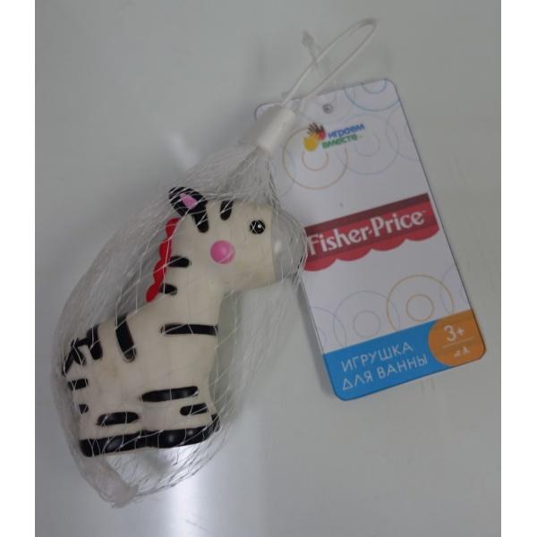 Игрушки для купания Играем вместе Капитошка Зебра Fisher-Price 260823 игрушка для купания для ванны играем вместе львенок fisher price 8 2 см