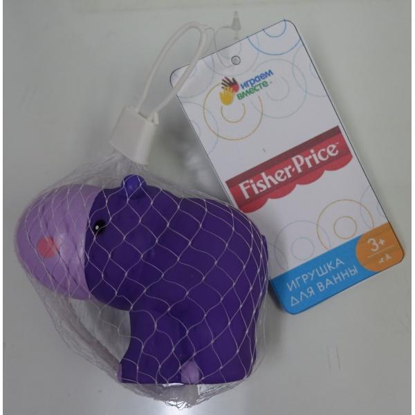 Игрушки для купания Играем вместе Капитошка. Бегемот Fisher-Price 260826 игрушки для ванны babymoov игрушка для купания кубики а104925