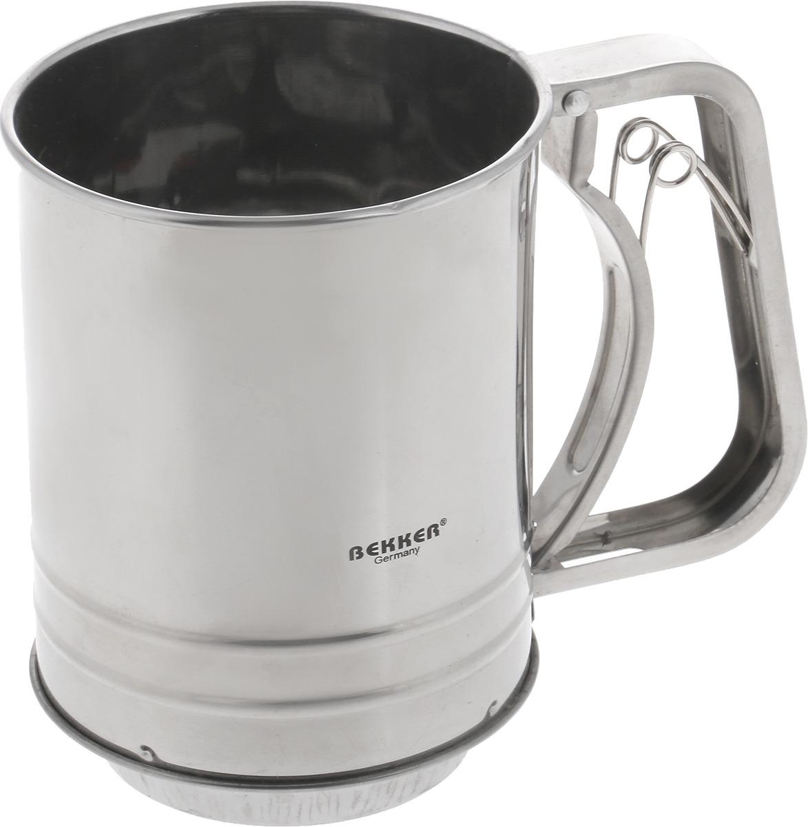 """Кружка-сито """"Bekker"""", 0,5 л. BK-9206"""