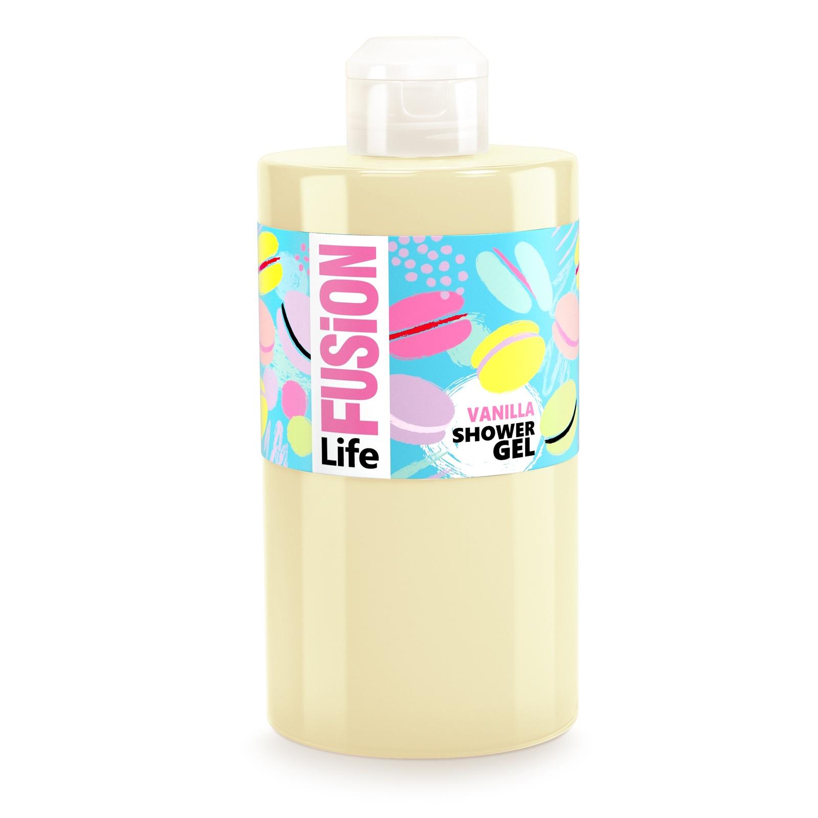 Гель для душа Fusion life Сливочная ваниль, 460 мл dr oetker ароматизатор сливочная ваниль 4 шт по 2 мл