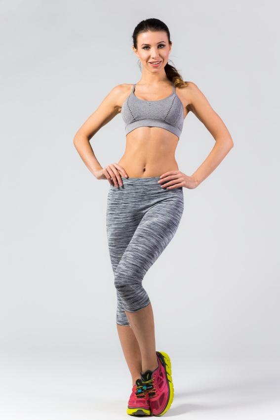 Топ женский Pro-fit 11693 LIGHT HEATHER GRAY (L) СВЕТЛО СЕРЫЙ, 48, 50 размер11693 LIGHT HEATHER GRAY (L)Споривный топ для фитнеса, побежки, йоги и т.д.