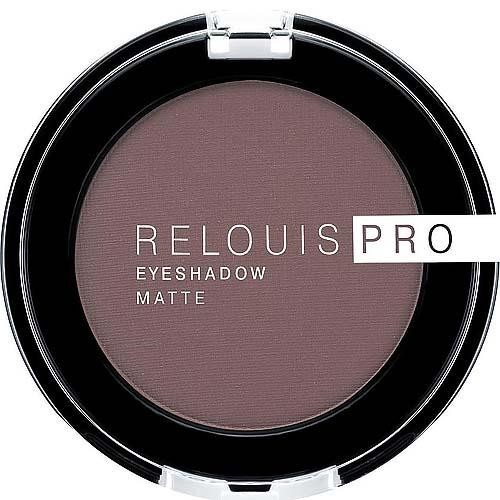Тени для век RELOUIS PRO EYESHADOW MATTE тон:13, ICED COFFEE/Relouis/6/М