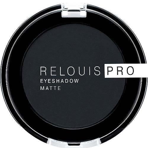 Тени для век RELOUIS PRO EYESHADOW MATTE тон:17, CARBON/Relouis/6/М