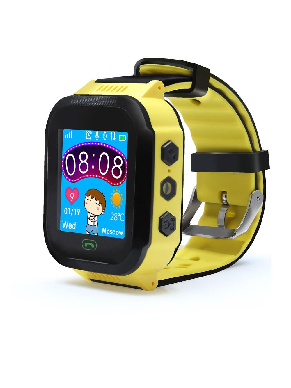 Умные часы для детей Ginzzu GZ-502, yellow