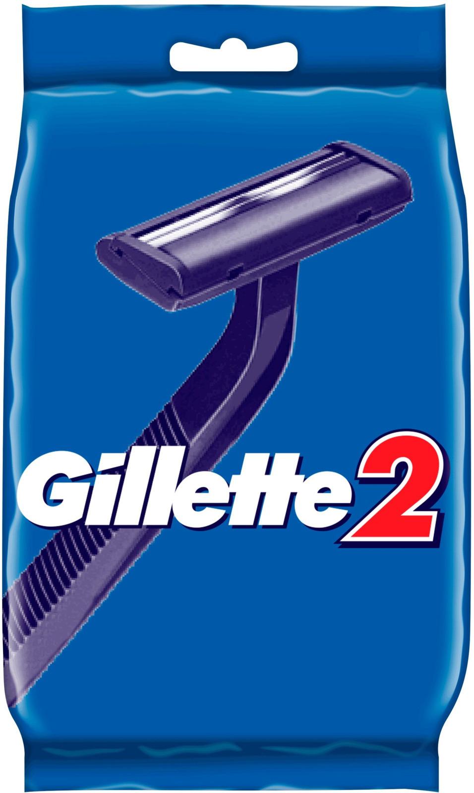 Одноразовые Мужские Бритвы Gillette2, 5 шт одноразовые бритвы для женщин gillette venus 3 3шт