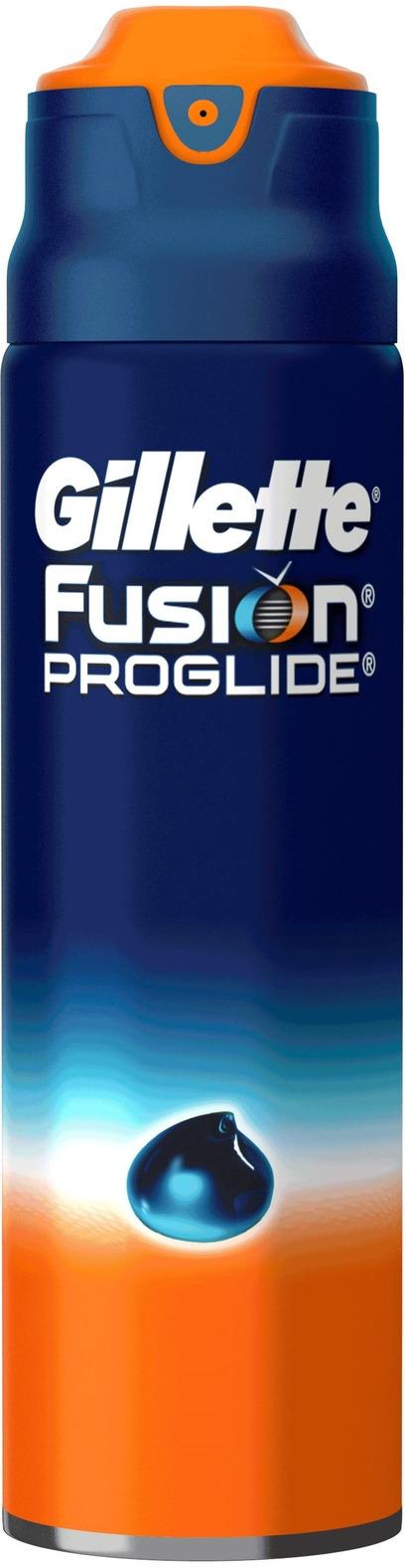 Gillette Fusion гель для бритья Для чувствительной кожи, 170мл