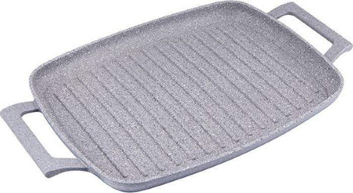 Сковорода-гриль Maestro Granit, MR-4047, серый, 47 х 27 см