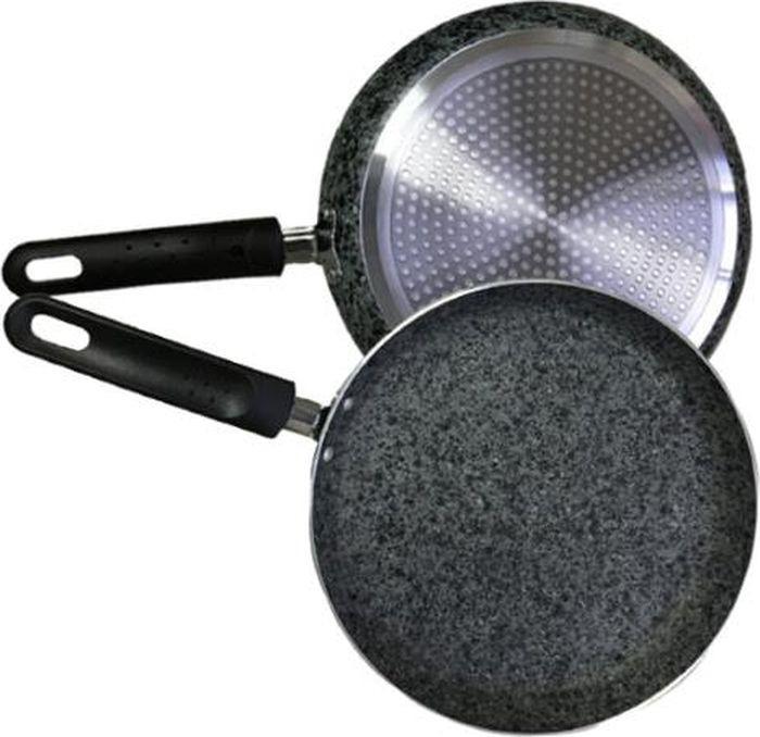 Сковорода для блинов Maestro Granit, MR-1221-20, серый, диаметр 20 см