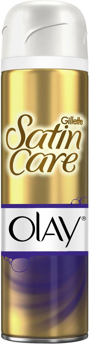 Gillette Satin Care & Olay Гель Для Бритья Violet Swirl, 200мл olay
