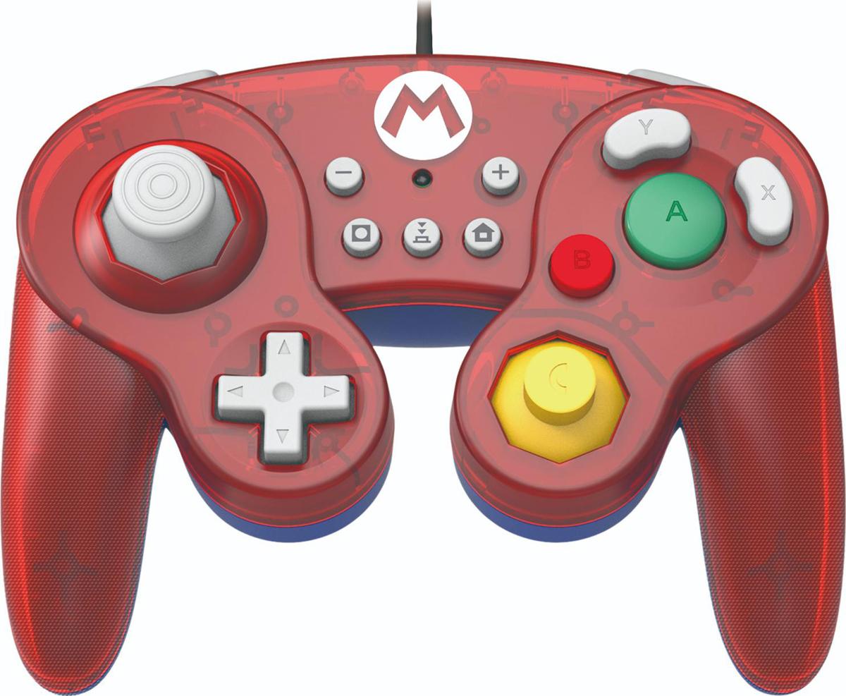 лучшая цена Геймпад Hori Battle Pad Mario, HR46, для консоли Nintendo Switch NSW-107U