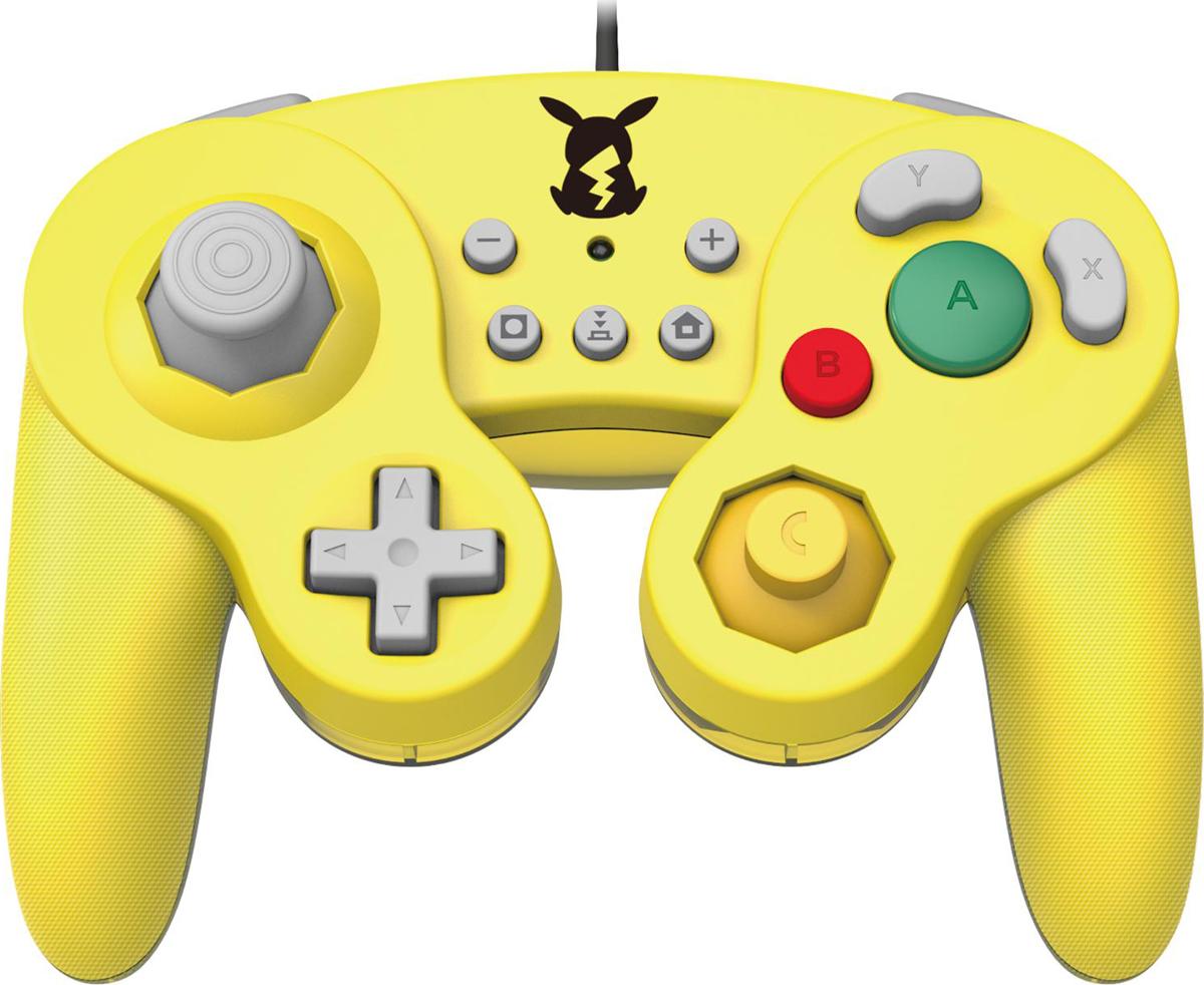 Геймпад Hori Battle Pad Pikachu, HR49, для консоли Nintendo Switch NSW-109U геймпад nintendo switch pro controller