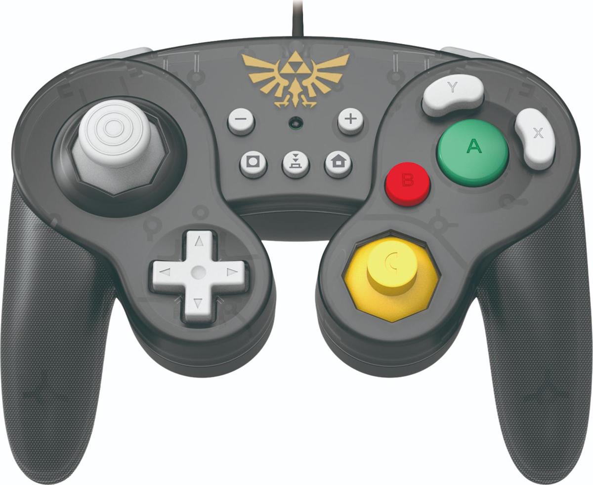 лучшая цена Геймпад Hori Battle Pad Zelda, HR48, для консоли Nintendo Switch NSW-108U